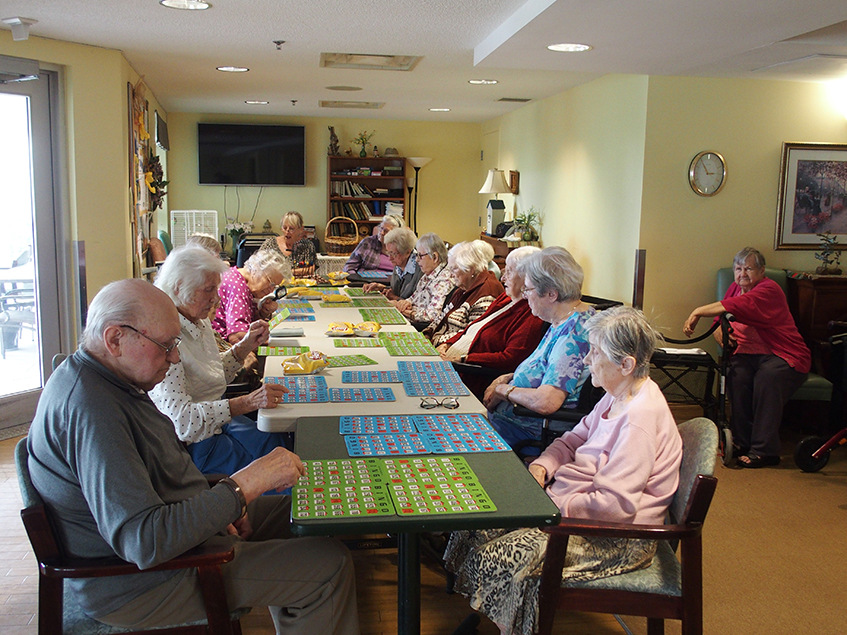 Activities Offered Labdara Lithuanian Nursing Home